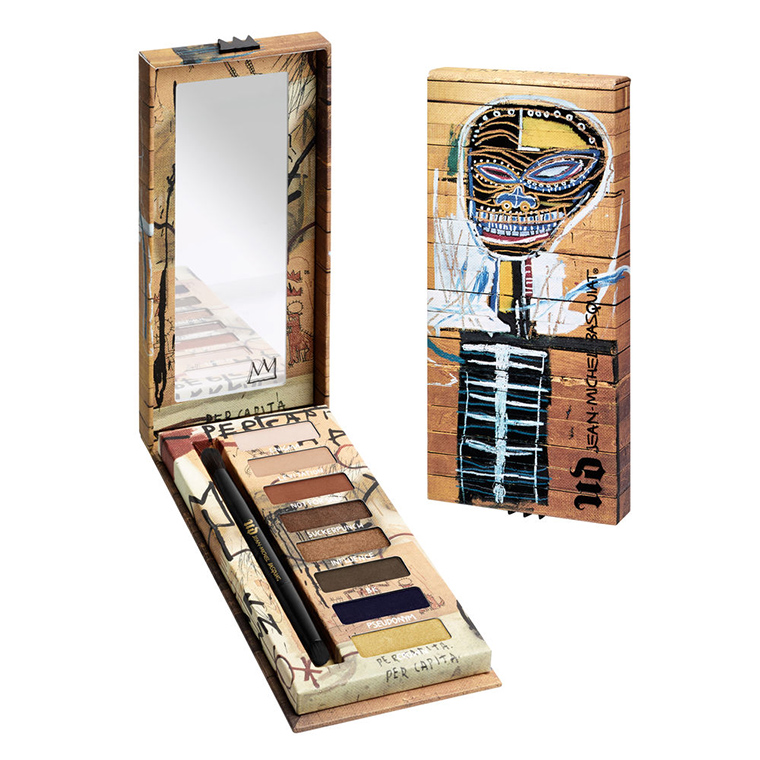 Image result for urban decay x jean michel basquiat