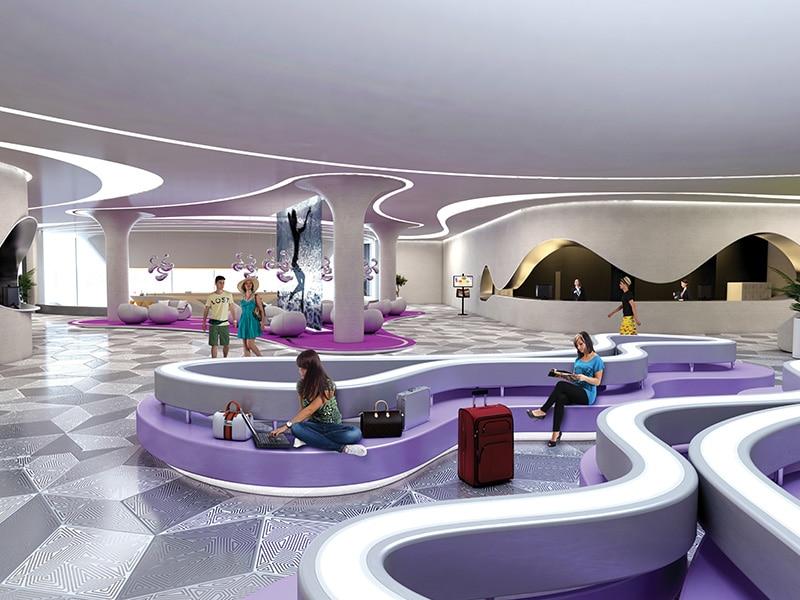 Temptation new lobby area