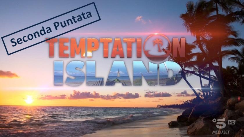 temptation island seconda puntata copertina