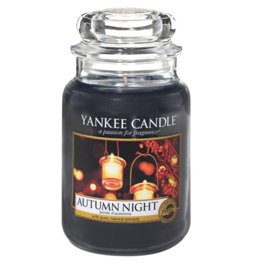 Image result for autumn night candle