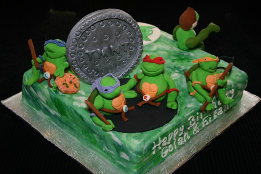 Teenage Mutant Ninja Turtles Cake Jerusalem | Temptations