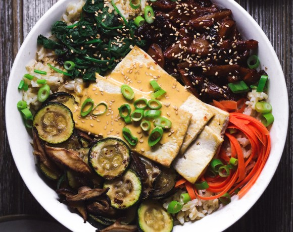 vegan bibimbap recipe