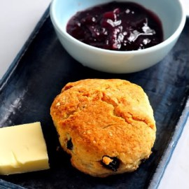 Old Jam And Fresh Scones