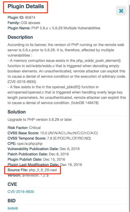 Plugin source filename