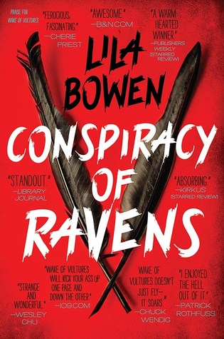 Audiobook Review: Conspiracy of Ravens by Lila Bowen