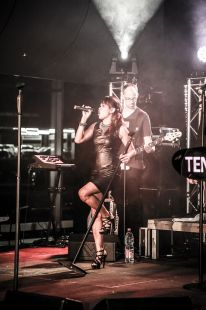 Partyband Ten Ahead beim...