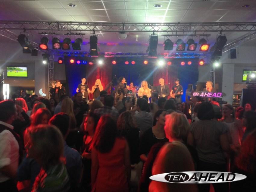 Liveband, Coverband,  Partyband, ten ahead, koeln, Köln, NRW, targobank, borussiapark, mönchengladbach