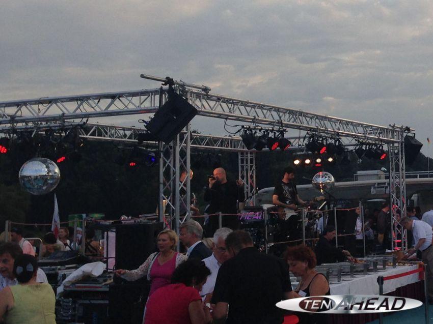 Liveband, Coverband,  Partyband, ten ahead, koeln, Köln, NRW, koelner lichter, kölner lichter, ms rheinenergie, rheinenergie