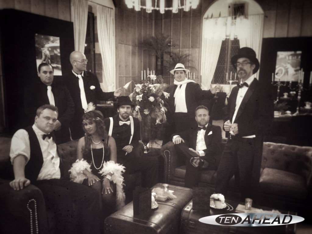 liveband heidelberg, schloss, showband, coverband, partyband, ten ahead