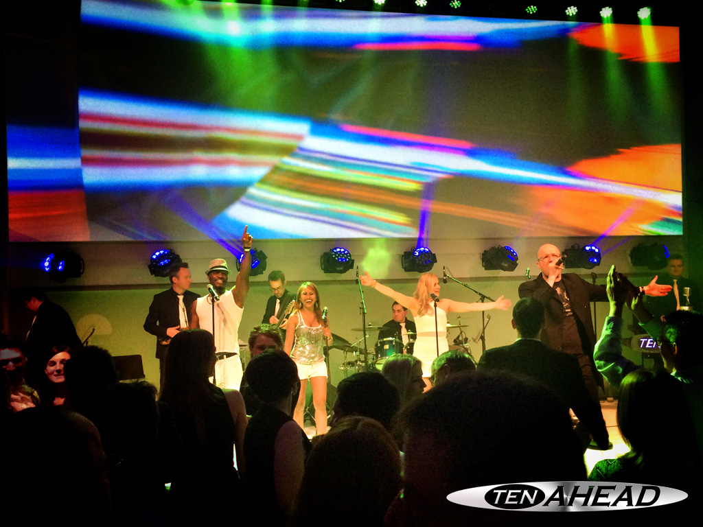 Messe Frankfurt, Messeparty, Partyband, Coverband, Liveband, Showband, Ten Ahead