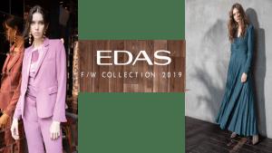EDAS COLLEZIONE AUTUNNO-INVERNO 2019/2020