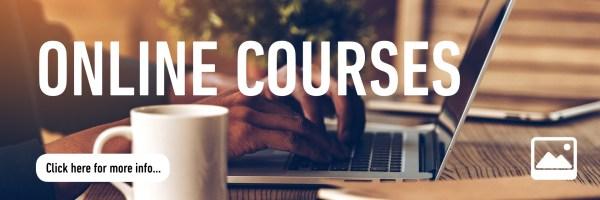 Online Courses button