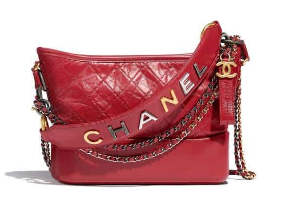 Chanel Gabrielle Hobo avec sangle