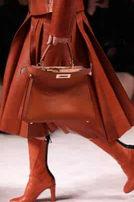 Collection Fendi automne hiver 2020 sac à main