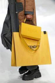 Collection sac homme Fendi Mens Fall 2020