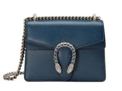 Mini sac à bandoulière en cuir Gucci Dionysus