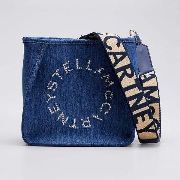 STELLA MCCARTNEY Mini sac en jean Eco Crossbody