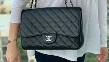 Sac à rabat Chanel Jumbo Classic Single Flap 2011