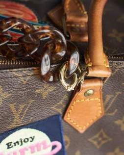Transformation du sac Speedy de Louis Vuitton