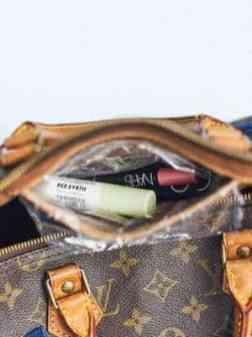 Créer une pochette à maquillage pour Speedy de Louis Vuitton