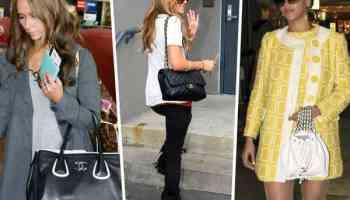 Les stars et leurs sacs Chanel : retour en 2007 - 2009