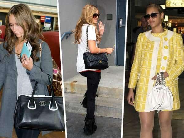 Les stars et leurs sacs Chanel : retour en 2007 – 2009