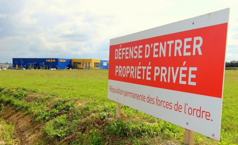 La Fronde Contre Ikea Centres Sorganise à Caen