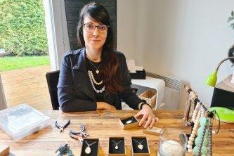 Les bijoux de Louise: des créations réaliséesenlait maternel