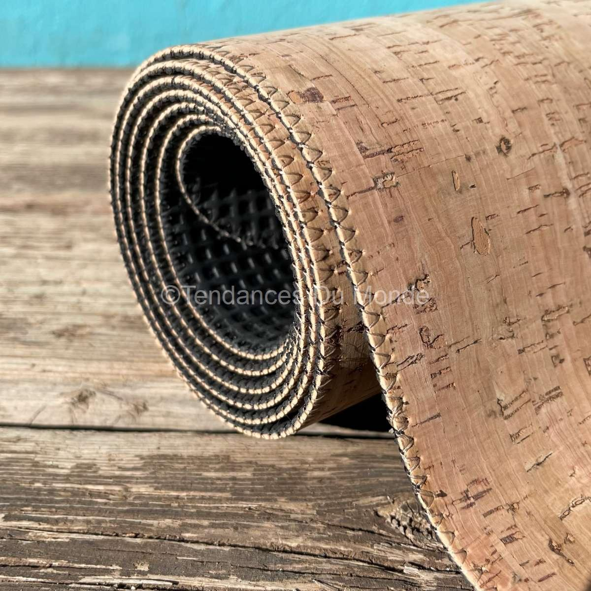 tapis de yoga en liege naturel