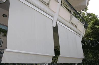 Tenda da sole per attico, giardino, terrazzo e patio. Tende Da Sole A Caduta