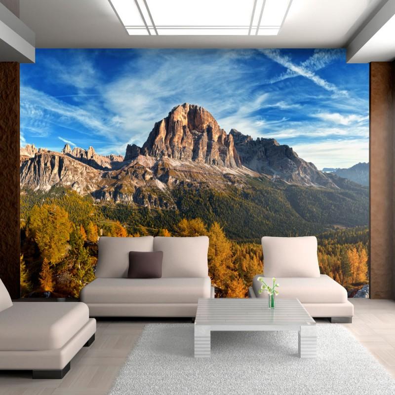 Papier Peint Paysage Merveilleux Dolomites TENDENCIO