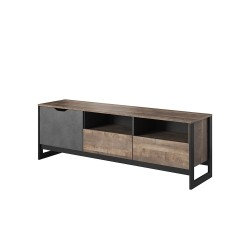 meuble tv industriel ardan de 160 cm