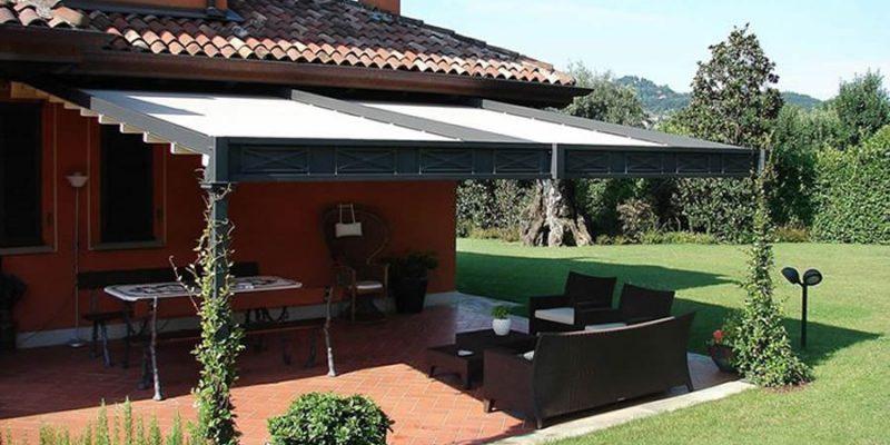 Tenda da sole con anelli 140x250h cm blu a righe. Tende Da Sole Roma Specializzati In Fornitura Installazione E Assistenza Tende Da Sole Tende Da Esterno E Pergotende Contattaci Per Un Preventivo