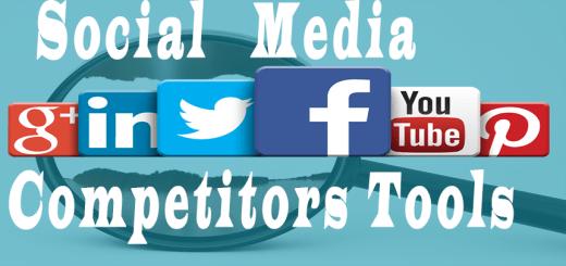 Social Media Competitors analysis tools