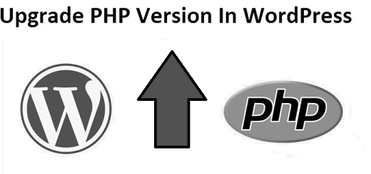 How to upgrade PHP version in wordpress