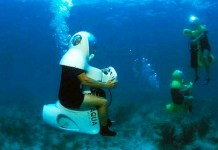 Il Bob Diving, facili immersioni in mare con lo scooter subacqueo