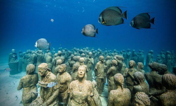 Il fondale marino di Lanzarote diventa un museo