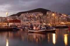 Nachtleben Teneriffa Hafen Los Cristianos Teneriffa