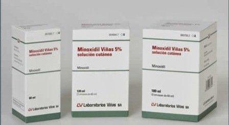 Minoxidil anti caída cabello