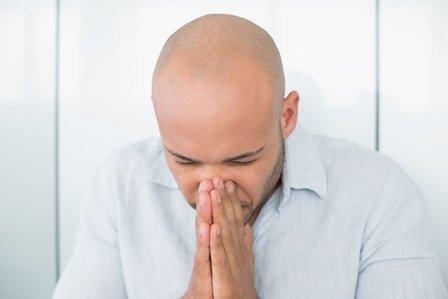 Algunos tipos de pérdida de cabello de los hombres