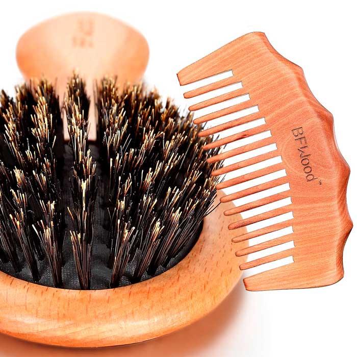 Peine-y-cepillo-de-madera