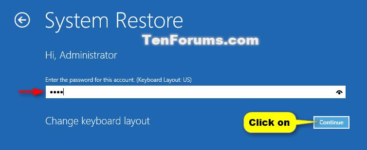 System Restore Windows 8 Advanced Boot Options