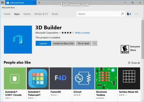 Reinstall and Re-register Apps in Windows 10   Tutorials