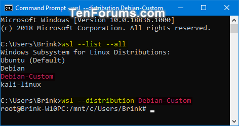 Export and Import Windows Subsystem for Linux WSL Distro ...