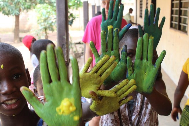 Bambini orfanotrofio Tohoun