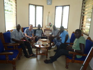 Ciro è in Togo nella parrocchia di Asrama