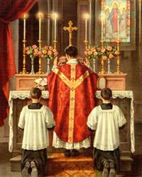 La eucaristía: sacramento y sacrificio