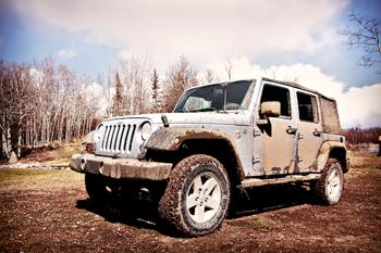 Ayer lavé el Jeep