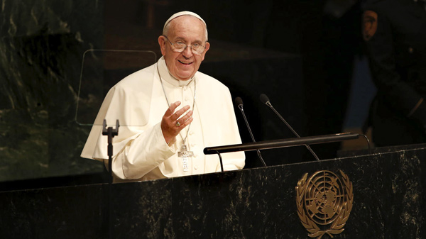 Papa Francisco en la ONU