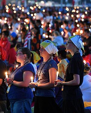 Vigilia de oración con los jóvenes